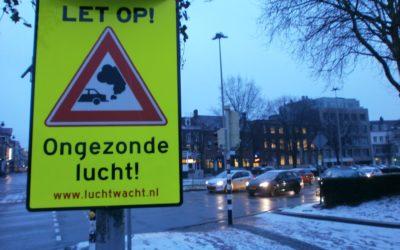 Luchtwachters in Arnhem binden strijd aan tegen ongezonde lucht