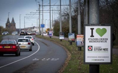 Referendum gekocht door KWP, mede mogelijk gemaakt door de gemeente Arnhem
